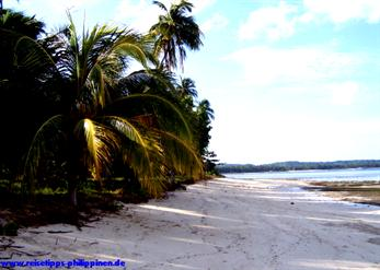 beach on Siargao