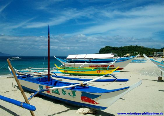 Boats at White Beach