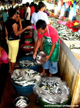 fishmarket in Puerto Princesa