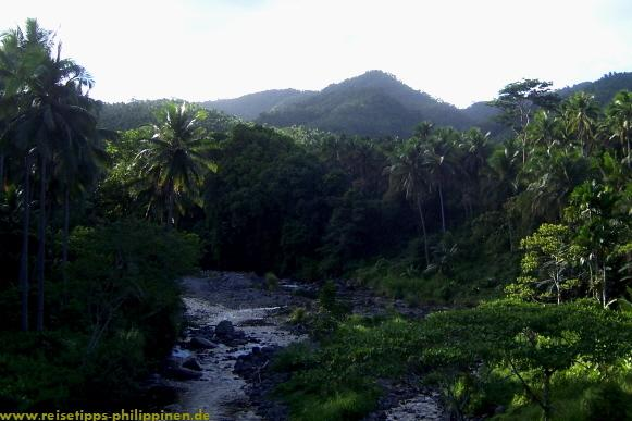 Leyte, river in the mountains